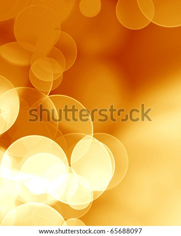 blurred lights on a soft red background - stock photo