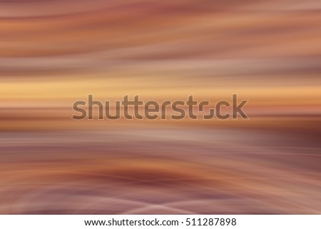 blurred motion brown background abstract horizontal lines