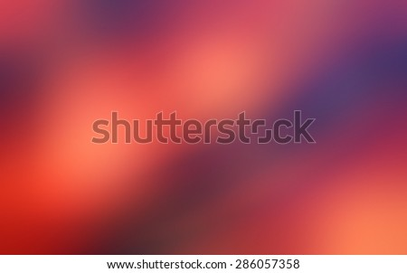Blurred multicolor magenta orange pink  abstraction background, pattern, wallpaper. - stock photo