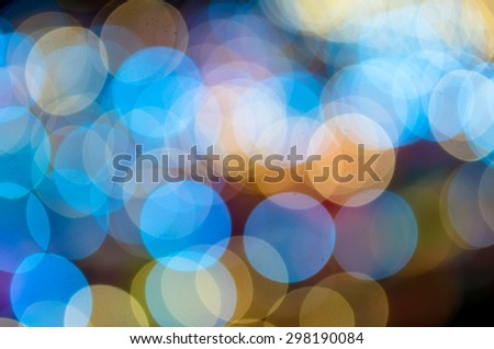 Blurred Photo bokeh of colorful - stock photo