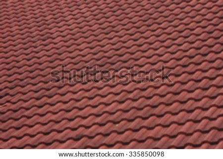 blurred photo roof tiles background