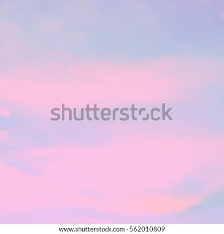 blurred pink blue sky wallpaper pastel stock illustration 562010809