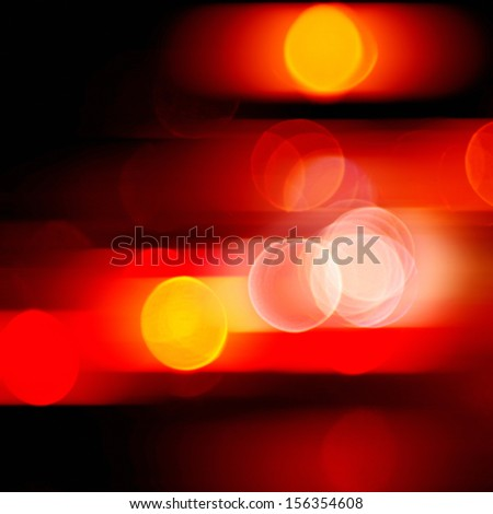 blurred red lights abstract color background - stock photo