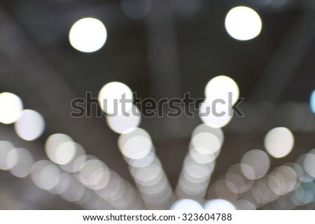 Blurred roof of a building industry - stock photo