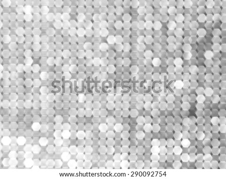 blurred silver background - stock photo