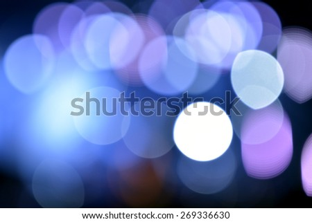 Blurred stage lights a rock concert in holiday - stock photo