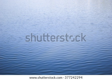 blurred surface lake river aqua background:blur blue color gradient calm still water backdrop concept.blurry ripple of lake river wallpaper horizontal frame:clean natural environment space display. - stock photo