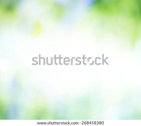blurry background - stock photo