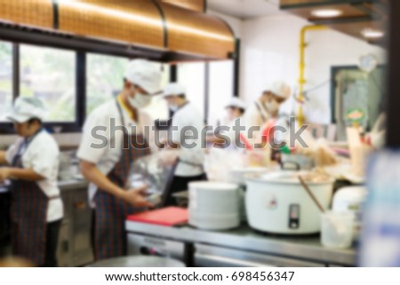 Restaurant Kitchen Chefs commercial kitchen stock images, royalty-free images & vectors