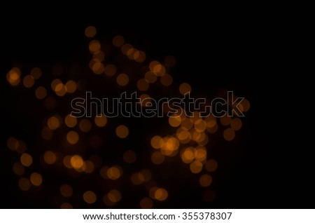 Blurry christmas lights abstract background