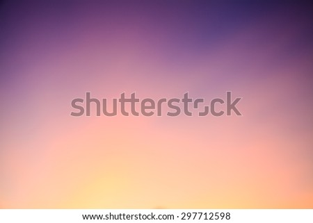 Blurry Cloudscape  abstract  with Blue Sky Backgrounds - stock photo