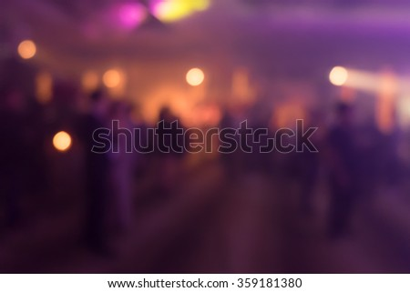 Blurry cocktail party with people background - stock photo
