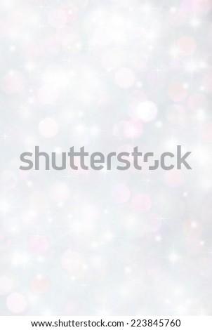 blurry lights sparkle glitter bokeh background - stock photo