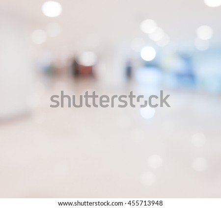 Blurry perspective shops - stock photo