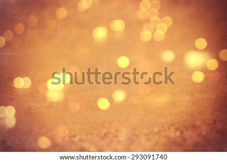 blurry unfocused background with light leaks and bokeh - stock photo