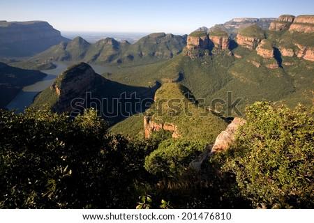 Blyde River Canyon - stock photo