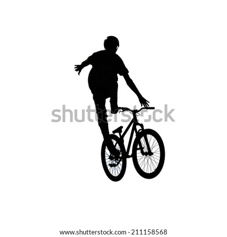 bmx contest sport extreme competition illustration isolated in white