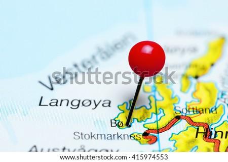Langoya Stock Images RoyaltyFree Images Vectors Shutterstock - Vesteralen norway map