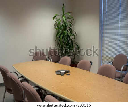 Board Room Long Conference Table Tall Stock Photo Royalty Free - Tall conference table