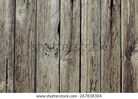 Boards/ The finish on the wooden floor - stock photo