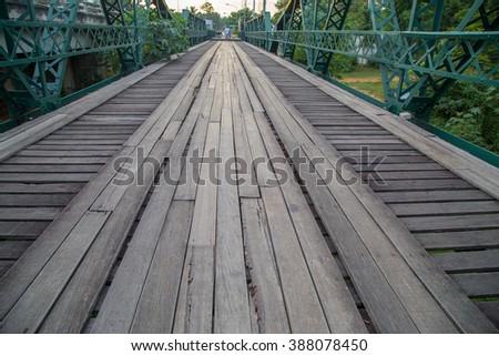 Boardwalk - stock photo