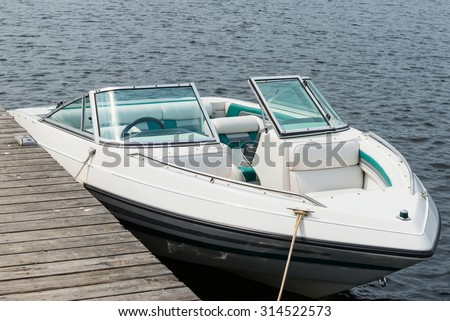 Boat at a dock