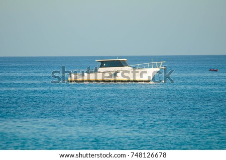 Boat at Caymans
