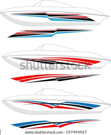 Vehicle Decals Stock Images RoyaltyFree Images  Vectors - Boat vinyl decals