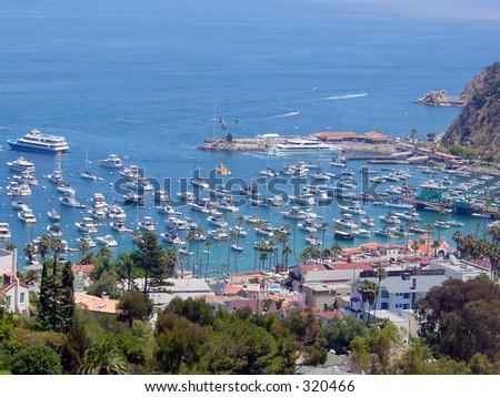 Boat Harbor - stock photo