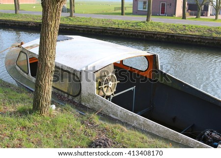 boat old - stock photo