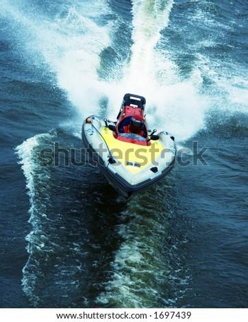 boat race - stock photo