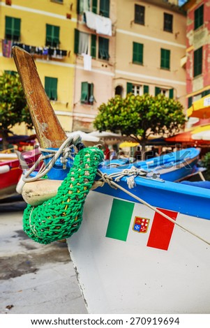 Boats in Portofino, Italy - stock photo
