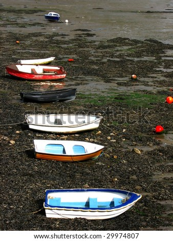 Boats in their rest - stock photo