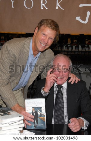 "Bob Einstein and Jerry Weintraub at a celebration of Jerry Weintraub's New Book ""When I Stop Talking You'll Know I'm Dead,"" Barney's New  York, Beverly Hills, CA. 05-18-10"