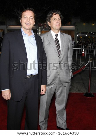 Bobby Farrelly, Peter Farrelly at Premiere of THE HEARTBREAK KID, Mann's Village Theatre, Los Angeles, CA, September 27, 2007