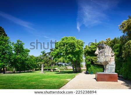 Boboli Gardens, Florence, Italy - stock photo