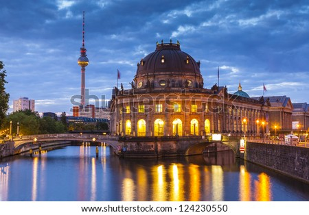 Bode Museum, Berlin, Germany - stock photo