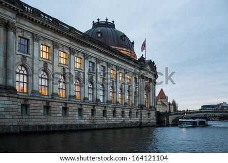 Bode museum, museum island, Berlin - stock photo