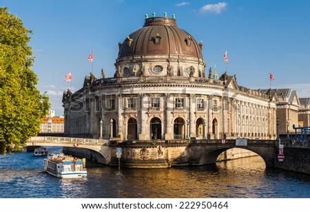 Bode museum on Museumsinsel, Berlin, Germany - stock photo