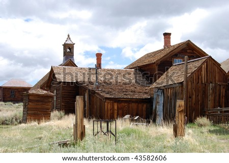 Bodie, California - ghost town - stock photo