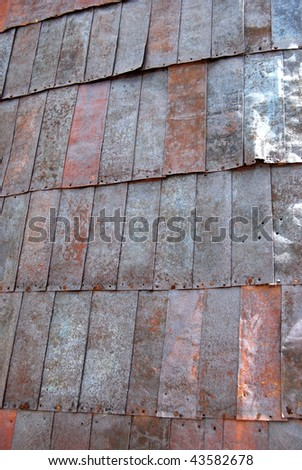 Bodie, California - ghost town - tin roof - stock photo