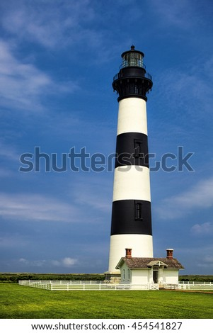 Bodie Island Lighthouse in North Carolina