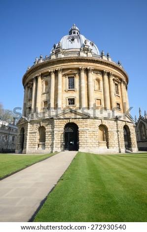 Bodleian Library Oxford - stock photo