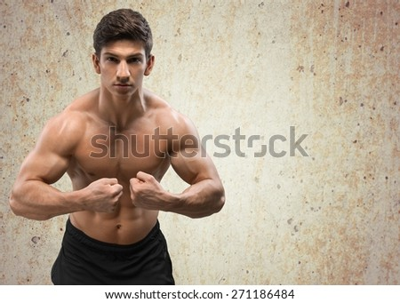 Body Building, Weight Training, Men.