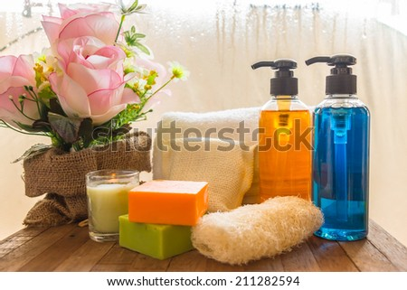 BODY CARE PRODUCT - stock photo