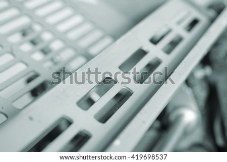 Body of technological equipment macro