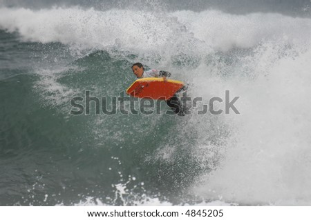 Bodyboard Women I.B.A. Sintra Portugal Pro Mandy Zieren-AUS photo sequence 4-6