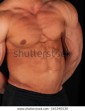 bodybuilde - stock photo