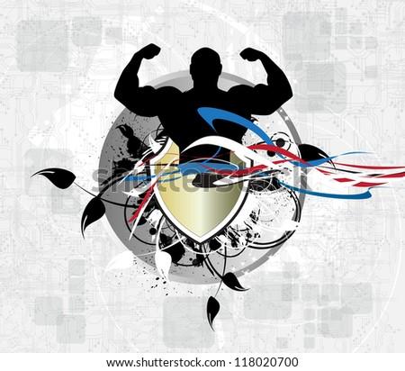 Bodybuilding - stock photo