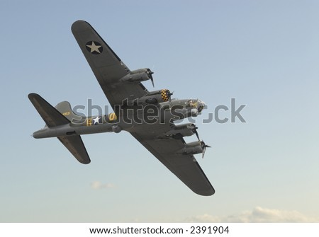 Boeing B17 Flying Fortress Bomber